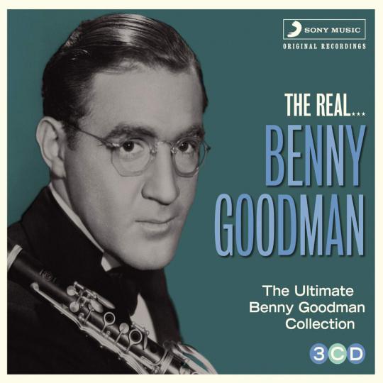 Benny Goodman. The Real... Benny Goodman. 3 CDs.
