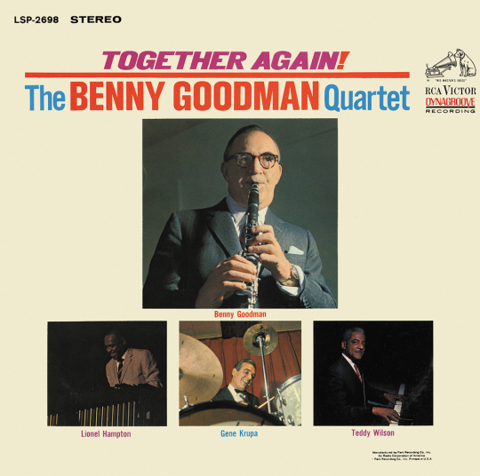 Benny Goodman. Together Again! CD.