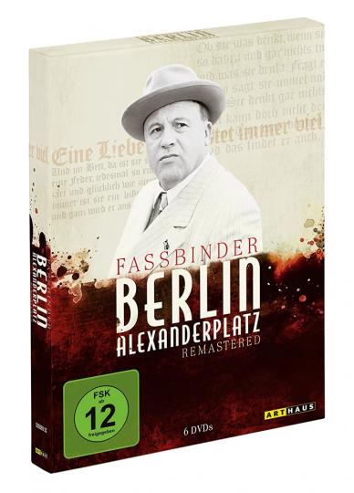 Berlin Alexanderplatz (1980) (remasterte Fassung). 6 DVDs.