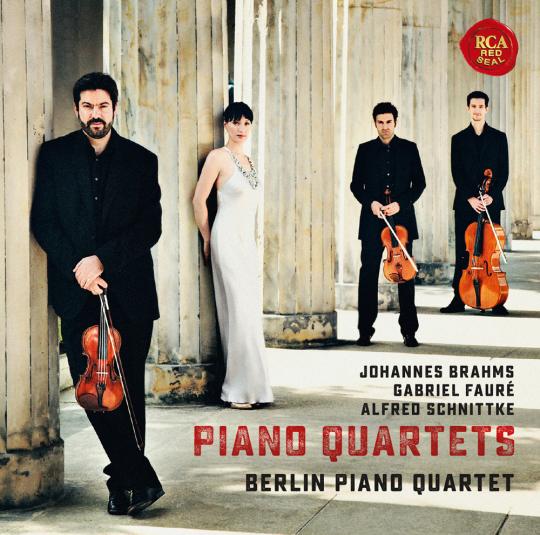 Berlin Piano Quartet. Brahms, Fauré, Schnittke. CD.