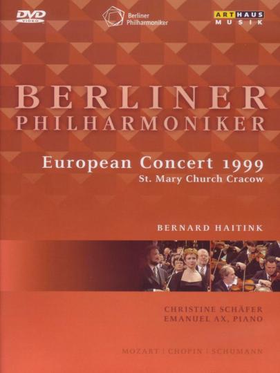 Berliner Philharmoniker. Europakonzert 1999 Krakau. DVD.