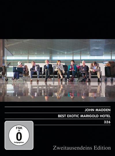 Best Exotic Marigold Hotel. DVD.