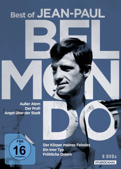Best of Jean Paul Belmondo 6 DVDs