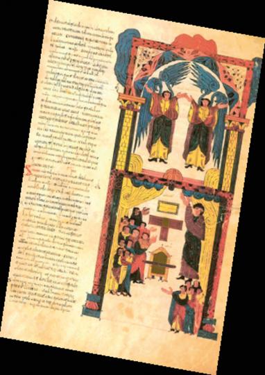 Bibel von 960 in León. Codex biblicus legionensis. Faksimile.