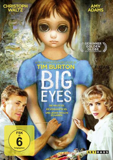 Big Eyes. DVD.