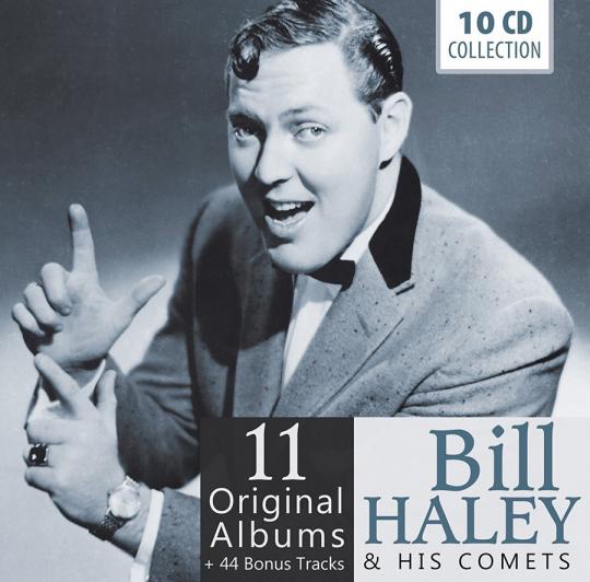 Bill Haley. 11 Original Albums. 10 CDs.