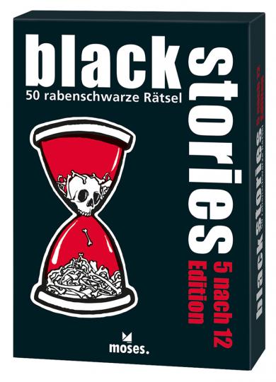 Black Stories - 5 nach 12 Edition. 50 rabenschwarze Rätsel.