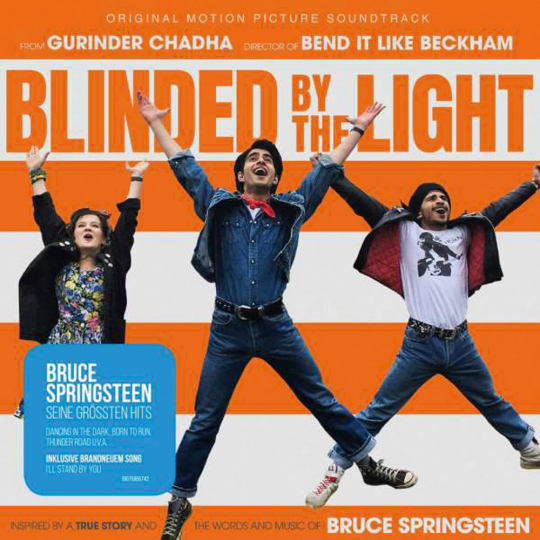 Blinded By The Light. Original Motion Picture Soundtrack. CD.