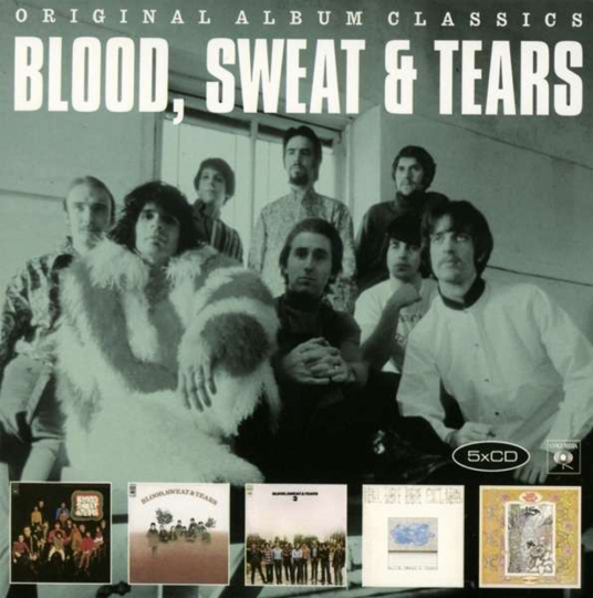 Blood, Sweat & Tears. Original Album Classics. 5 CDs.
