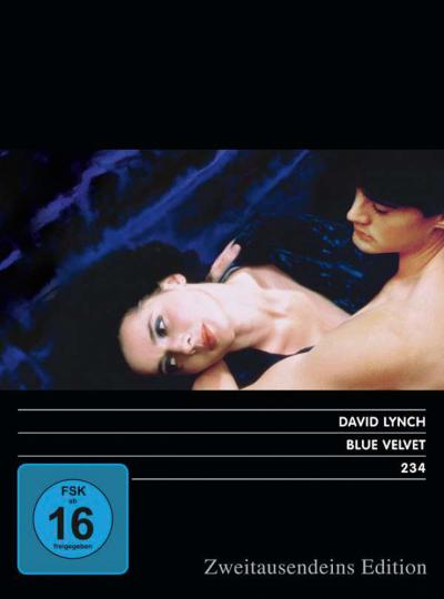 Blue Velvet. DVD.