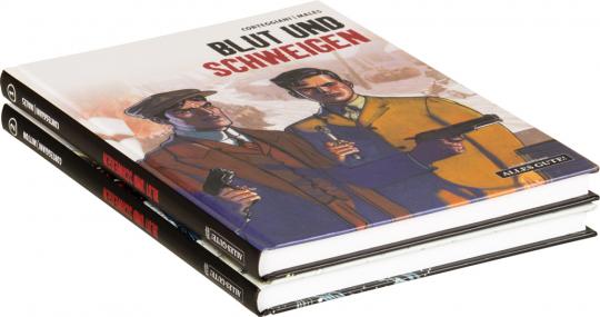 Blut und Schweigen. Teil 1 und 2. 2 Bände im Set. Graphic Novel.