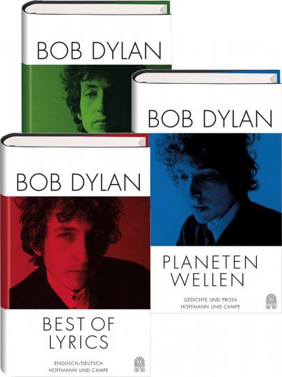 Bob Dylan Geburtstagsausgabe. Gedichte und Prosa des Nobelpreisträgers. 3 Bände.