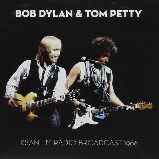 Bob Dylan & Tom Petty. KSAN FM Radio Broadcast 1986. CD.