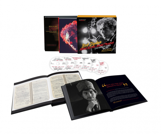 Bob Dylan. More Blood, More Tracks: The Bootleg Series Vol.14 (Deluxe-Edition). 6 CDs, 2 Bücher.