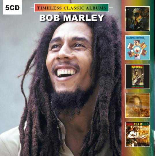 Bob Marley. Timeless Classic Albums. 5 CDs.
