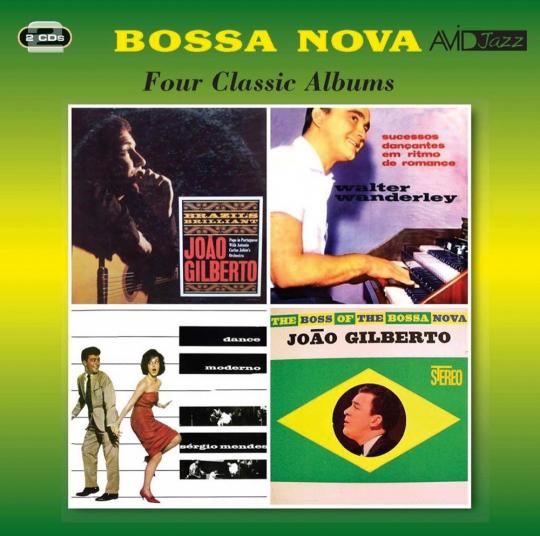 Bossa Nova. Four Classic Albums. 2 CDs.