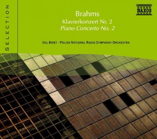 Brahms. Klavierkonzert Nr.2. CD.