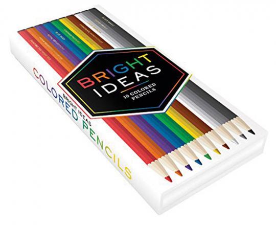Bright Ideas. 10 Buntstifte.