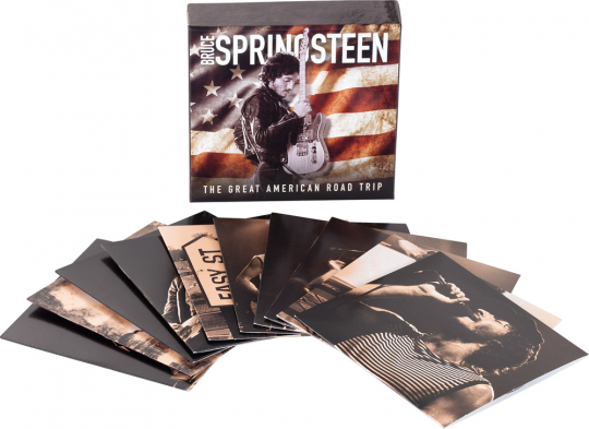 Bruce Springsteen. The Great American Road Trip. 10 CDs.
