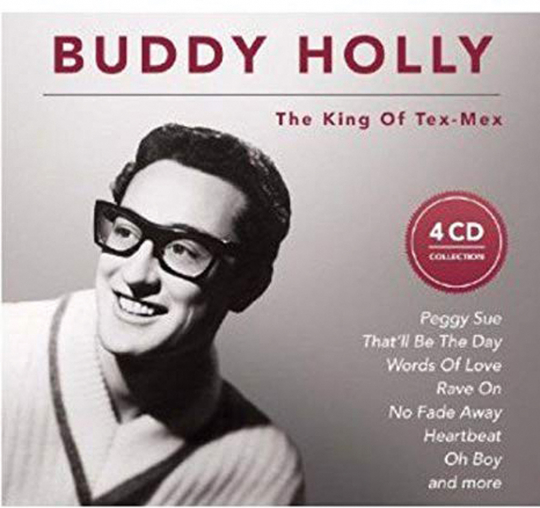 Buddy Holly: The King Of Tex-Mex. 4 CDs.