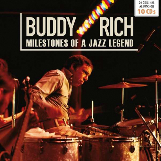 Buddy Rich. Milestones Of A Jazz Legend. 10 CDs.