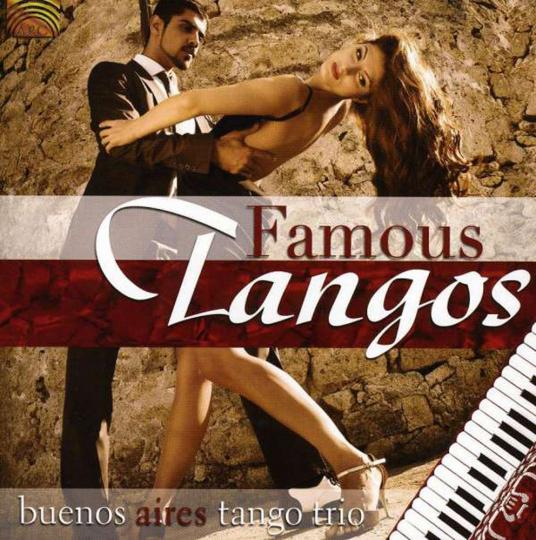 Buenos Aires Tango Trio. Famous Tangos. CD.