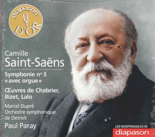 Camille Saint-Saëns. Symphonie Nr. 3, »Orgelsymphonie«.
