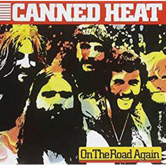 Canned Heat. On the road again. CD.