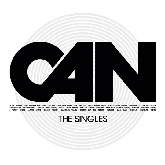 Can. The Singles. CD.
