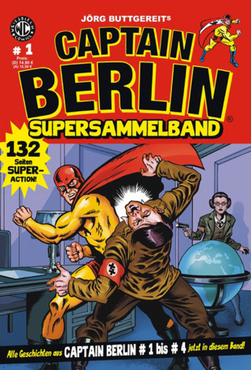 Captain Berlin. Supersammelband 1. Comic.