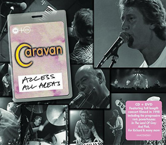 Caravan. Access All Areas. CD + DVD.