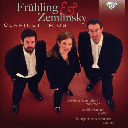 Carl Frühling und Alexander von Zemlinsky. Clarinet Trios. CD.