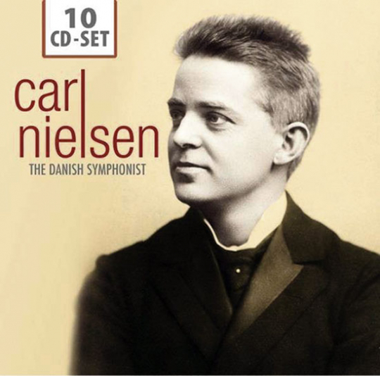 Carl Nielsen. The Danish Symphonist. 10 CD Set.