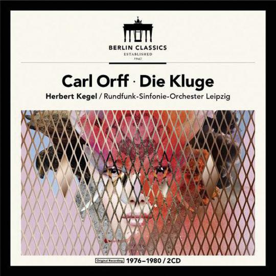 Carl Orff. Die Kluge. 2 Vinyl LPs.