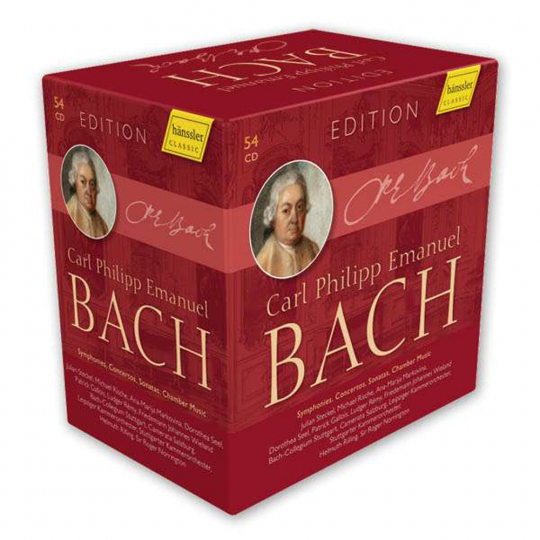 Carl Philipp Emanuel Bach Edition. 54 CDs.