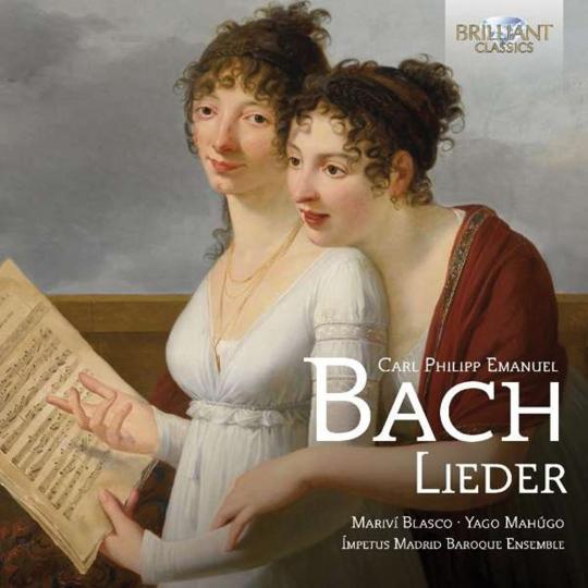Carl Philipp Emanuel Bach. Lieder. CD.