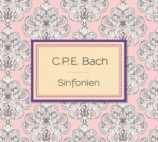 Carl Philipp Emanuel Bach. Sinfonien. CD.