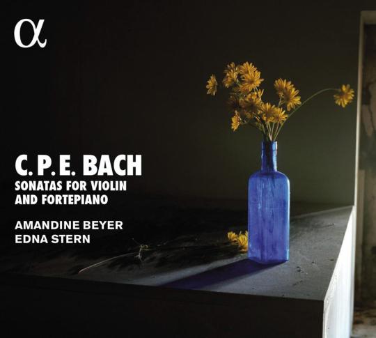 Carl Philipp Emanuel Bach. Sonaten für Violine & Klavier Wq. 76-78. CD.