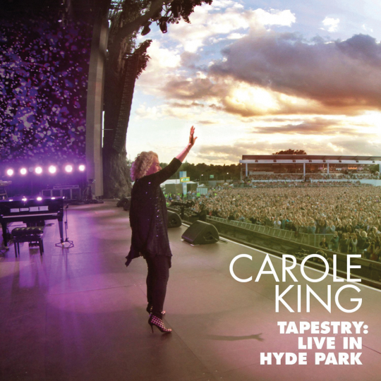 Carole King. Tapestry. Live In Hyde Park 2016. CD & DVD.