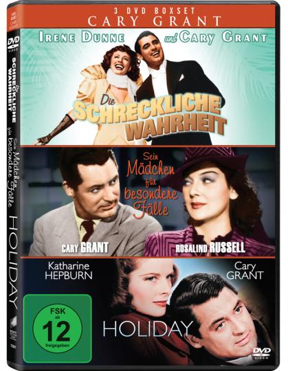 Cary Grant. 3 DVD Boxset.