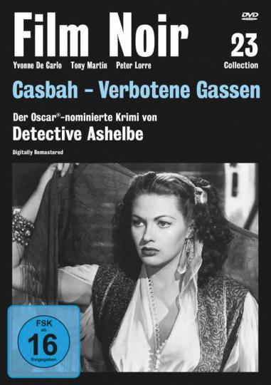 Casbah - Verbotene Gassen. DVD.