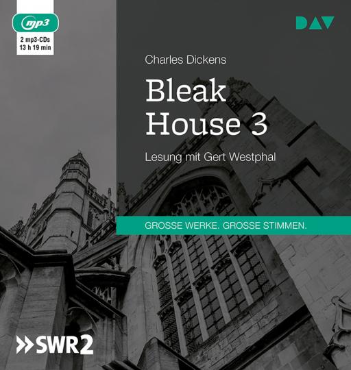 Charles Dickens. Bleak House 3. 2 mp3-CDs.