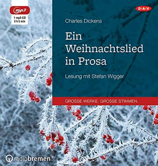 Charles Dickens. Ein Weihnachtslied in Prosa. Hörbuch. 1 CD.