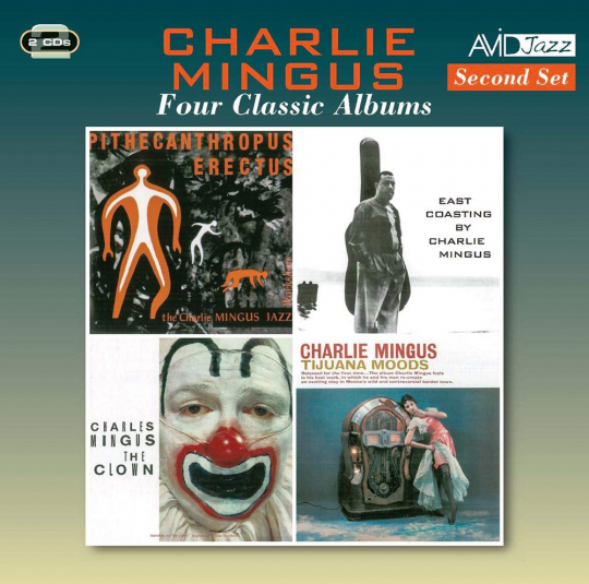 Charles Mingus. Four Classic Albums. 2 CDs.