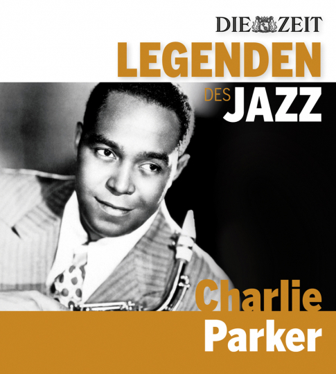 Charlie Parker. Legenden des Jazz. CD.