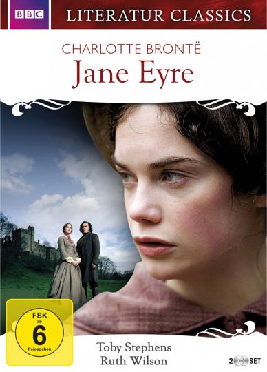 Charlotte Brontë. Jane Eyre. Filmreihe Literaturklassiker. 2 DVDs.