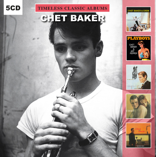 Chet Baker. Timeless Classic Albums. Vol. 2. 5 CDs.