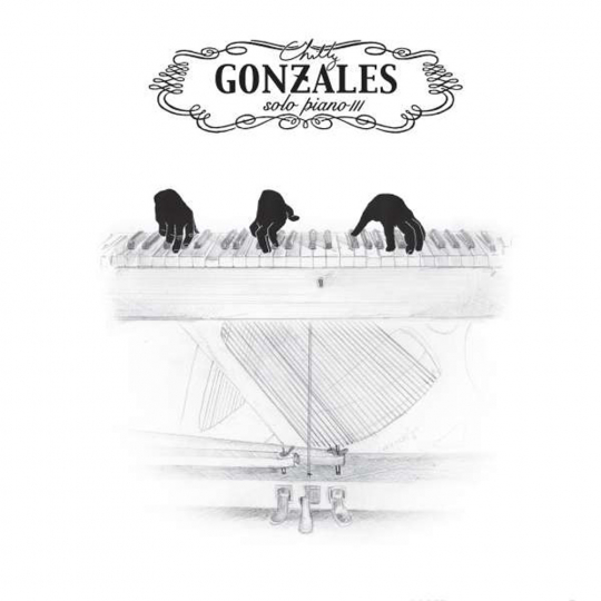 Chilly Gonzales. Solo Piano III. CD.