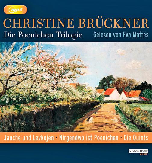 Christine Brückner. Die Poenichen-Trilogie. 3 mp3-CDs.