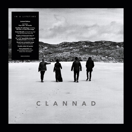 Clannad. In a Lifetime (Deluxe Bookpack Edition). 4 CDs, 3 LPs, 1 Single (7 zoll).